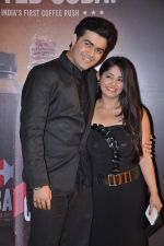 Chandni Bhagwanani, Nishad Vaidya at Gold TV awards red carpet in Mumbai on 20th July 2013 (92).JPG