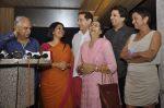 Ramesh Sippy, Krutika Desai Khan at the launch of TV Serial Buniyad in Bandra, Mumbai on 20th July 2013 (22).JPG