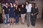 Dibyendu Bhattacharya, Shilpa Shukla, Ajay Bahl, Shadab Kamal at Ba. Pass film promotions in PVR, Mumbai on 22nd July 2013 (65).JPG