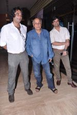 Mahesh Bhatt, Ajay Bahl, Narendra Singh at Ba. Pass film promotions in PVR, Mumbai on 22nd July 2013 (22).JPG