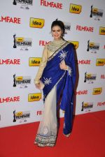 Meenakshi Dixit on the Red Carpet of _60the Idea Filmfare Awards 2012(South).jpg