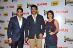 Naga Chaitanya, Nagarjuna and Amala on the Red Carpet of _60the Idea Filmfare Awards 2012(South).jpg