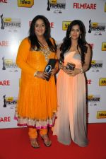 Radhika and Tulasi on the Red Carpet of _60the Idea Filmfare Awards 2012(South).jpg