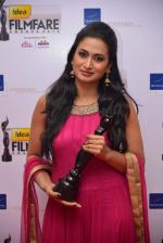 Shweta Shrivastav received Best Debut (Female) for Cyber Yugadol Nava Yuva (Kannada).jpg