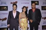 Tusshar Kapoor, Vishakha Singh, Ravi Kissen at Bajatey raho premiere in Mumbai on 25th July 2013 (193).JPG