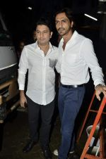 Arjun Rampal, Bhushan Kumar at Launch of Raghupati Raghav song from Satyagraha in Mumbai on 25th July 2013 (162).JPG
