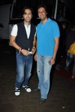 Salim Merchant, Sulaiman Merchant at Launch of Raghupati Raghav song from Satyagraha in Mumbai on 25th July 2013 (222).JPG