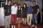 Anusha Dandekar, Raghu Ram, Ranvijay Singh at Anusha Dandekar_s bash in Liv, Mumbai on 26th July 2013 (5).JPG