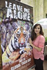 Dia Mirza at Save The Tiger campaign in Press Club, Mumbai on 26th July 2013 (12).JPG