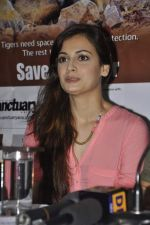 Dia Mirza at Save The Tiger campaign in Press Club, Mumbai on 26th July 2013 (16).JPG