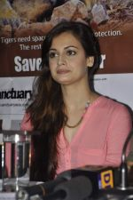 Dia Mirza at Save The Tiger campaign in Press Club, Mumbai on 26th July 2013 (17).JPG