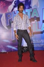 Shahid Kapoor at the Launch of Tu Mere Agal Bagal Hai song from Phata Poster Nikhla Hero in Mehboob, Mumbai on 26th July 2013 (141).JPG