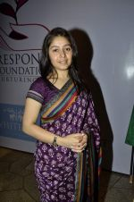 Sunidhi Chauhan at Kiran Juneja Sippy_s Respond Foundation launch in Mumbai on 26th July 2013 (58).JPG