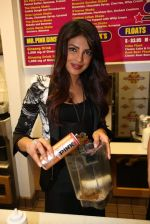 Priyanka Chopra launched her celebrity milkshake The Exotic at world famous Millions of Milkshakes in California on 25th July 2013 (26).jpg