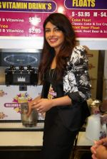 Priyanka Chopra launched her celebrity milkshake The Exotic at world famous Millions of Milkshakes in California on 25th July 2013 (27).jpg