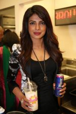 Priyanka Chopra launched her celebrity milkshake The Exotic at world famous Millions of Milkshakes in California on 25th July 2013 (31).jpg