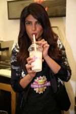 Priyanka Chopra launched her celebrity milkshake The Exotic at world famous Millions of Milkshakes in California on 25th July 2013 (35).jpg