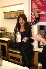 Priyanka Chopra launched her celebrity milkshake The Exotic at world famous Millions of Milkshakes in California on 25th July 2013 (37).jpg