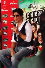 Shahrukh Khan visits Fun Cinemas in Bhopal to promote Chennai Express on 27th July 2013 (11).JPG