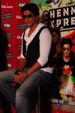 Shahrukh Khan visits Fun Cinemas in Bhopal to promote Chennai Express on 27th July 2013 (13).JPG