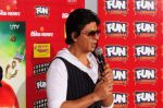 Shahrukh Khan visits Fun Cinemas in Bhopal to promote Chennai Express on 27th July 2013 (3).JPG