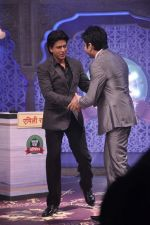 Shahrukh Khan on the sets of Diya aur Baati in Filmcity, Mumbai on 28th July 2013 (12).JPG