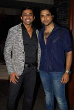 Anuj Saxena-nikhil arya at Rajan Shahi_s Bash in Mumbai on 30th July 2013.jpg