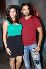 Vahbbiz-dorabajee-Vivian Dsena at Rajan Shahi_s Bash in Mumbai on 30th July 2013.jpg