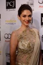 Aditi Rao Hydari on day 5 at PCJ Delhi Couture week 2013 press meets on 4th Aug 2013 (21).JPG
