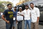 Ayushmann Khurrana, John Abraham on sets of Madras Cafe.JPG