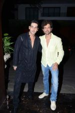 Hrithik Roshan, Zayed Khan at Sanjay and Zareen Khan_s Iftar party in Sanjay Khan_s Residence, Mumbai on 6th Aug 2013 (161).JPG