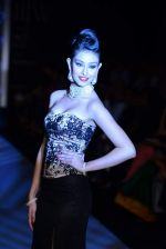 Navneet Kaur Dhillon walks the ramp for International Gemological Institute on Day 3 of IIJW 2013 on 6th Aug 2013 (56).JPG