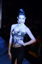 Navneet Kaur Dhillon walks the ramp for International Gemological Institute on Day 3 of IIJW 2013 on 6th Aug 2013 (57).JPG