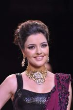 Kristina Akheeva walks the ramp for D.Navinchandra on Day 4 of IIJW 2013 on 7th Aug 2013 (3).JPG