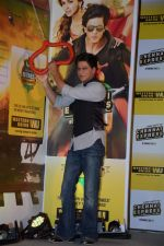 Shahrukh Khan promotes Chennai Express in association with Western Union in Mumbai on 7th Aug 2013 (46).JPG