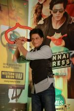 Shahrukh Khan promotes Chennai Express in association with Western Union in Mumbai on 7th Aug 2013 (48).JPG