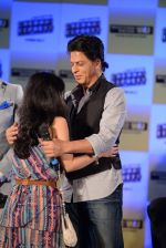 Shahrukh Khan promotes Chennai Express in association with Western Union in Mumbai on 7th Aug 2013 (49).JPG