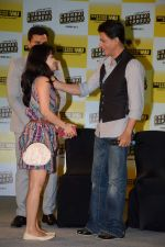 Shahrukh Khan promotes Chennai Express in association with Western Union in Mumbai on 7th Aug 2013 (50).JPG