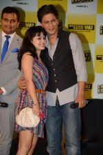 Shahrukh Khan promotes Chennai Express in association with Western Union in Mumbai on 7th Aug 2013 (51).JPG