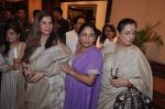 Dimple Kapadia, Poonam Sinha, Anju Mahendroo at Rajesh Khanna_s statue unvieled in Taj Land_s End, Mumbai on 10th Aug 2013 (136).JPG
