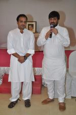Sajid, Wajid at Sajid-Wajid_s father_s prayer meet in Mumbai on 11th Aug 2013 (30).JPG