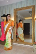 Nagma at Independence day theme look by Amy Billimoria and Doris in Khar, Mumbai on 13th Aug 2013 (17).JPG