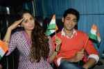 Sangeeta Ghosh, Ruslaan Mumtaz at Kehta Hai Dil Jee Le Zara on location in Filmcity, Mumbai on 13th Aug 2013 (41).JPG