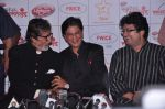 Amitabh Bachchan, Shahrukh Khan, Parsoon Joshi   at Uttarakhand fund raiser in Mumbai on 16th Aug 2013 (21).JPG