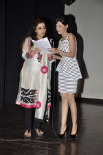 Amrita Rao, Archana Kocchar at NM College Umang fest in Mumbai on 17th Aug 2013 (21).JPG