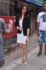 Karishma Tanna at Grand Masti promotions in Malhar, Mumbai on 17th Aug 2013 (93).JPG