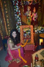 Priyal Gor at Big Magic Janmasthami episode shoot in Mumbai on 17th Aug 2013 (29).JPG
