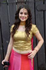 Priyal Gor at Big Magic Janmasthami episode shoot in Mumbai on 17th Aug 2013 (31).JPG