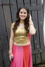 Priyal Gor at Big Magic Janmasthami episode shoot in Mumbai on 17th Aug 2013 (34).JPG