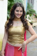 Priyal Gor at Big Magic Janmasthami episode shoot in Mumbai on 17th Aug 2013 (36).JPG